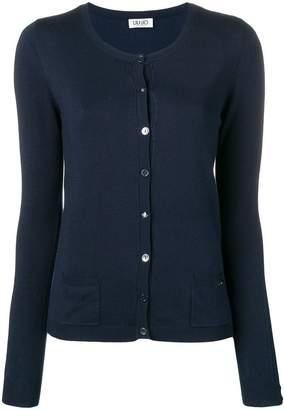 Liu Jo long-sleeve fitted cardigan