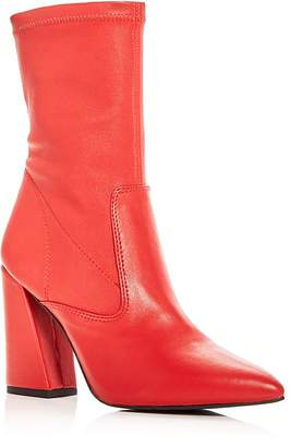 Kenneth Cole Women's Galla Leather High Heel Booties