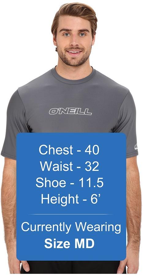 O'Neill Basic Skins Rash Tee Men's Swimwear