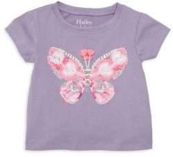 Hatley Baby Girl's Sequin Butterfly Tee