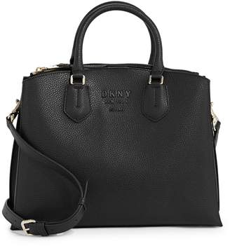 DKNY Noho Vicuna Leather Satchel