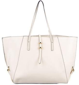 Zac Posen Leather Large Handle Bag