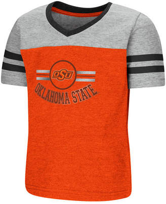 Colosseum Oklahoma State Cowboys Pee Wee Football T-Shirt, Toddler Girls (2T-4T)