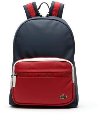 Lacoste Men's L.12.12 Concept Colorblock Petit Pique Backpack