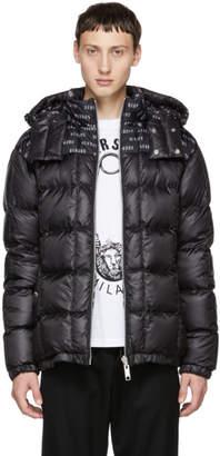Versus Reversible Black Puffer Down Jacket