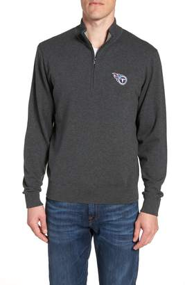 Cutter & Buck Tennessee Titans - Lakemont Regular Fit Quarter Zip Sweater