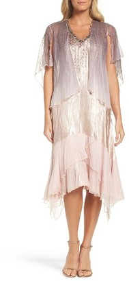 Women's Komarov Embellished Dress & Capelet $438 thestylecure.com