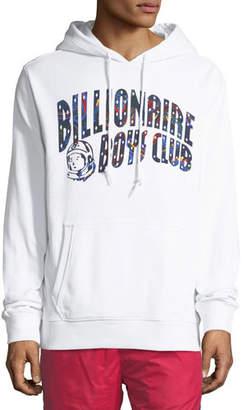 Billionaire Boys Club Men's Paisley Arch Logo Pullover Hoodie