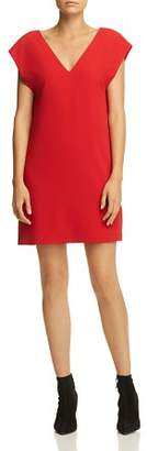 Alice + Olivia Carita Tie-Back Shift Dress