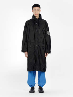 Moncler Genius GENIUS 1952 BLACK GREG RAIN COAT