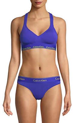 Calvin Klein Modern Cotton Padded Sports Bra