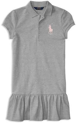 Polo Ralph Lauren Girls' Drop-Waist Shirt Dress - Big Kid