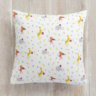 Party Animals Square Pillow