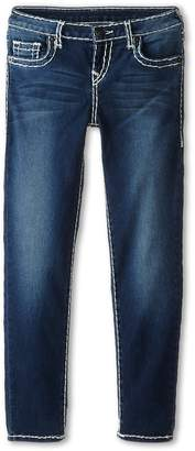 True Religion Casey Skinny Natural Super T in Ancient Girl's Jeans