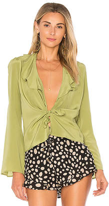 STONE COLD FOX Sailor Blouse in Mint $200 thestylecure.com