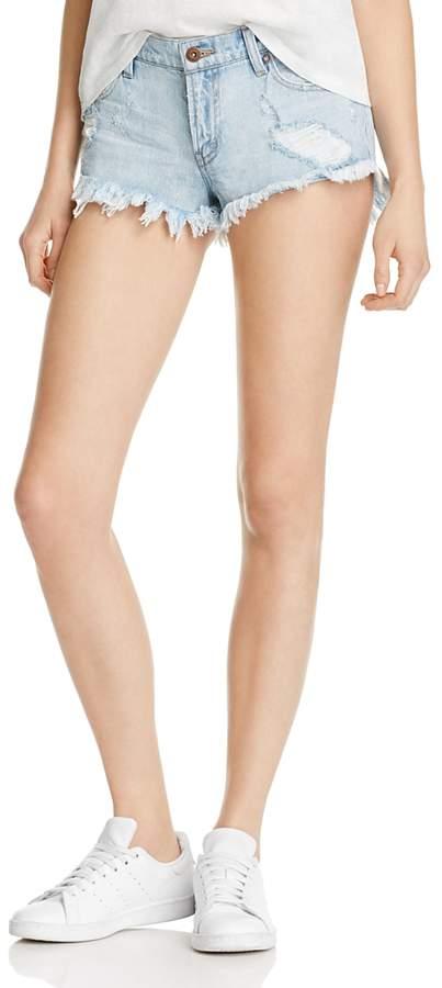 Pistola Gigi Low Rise Denim Shorts in New Era - 100% Exclusive