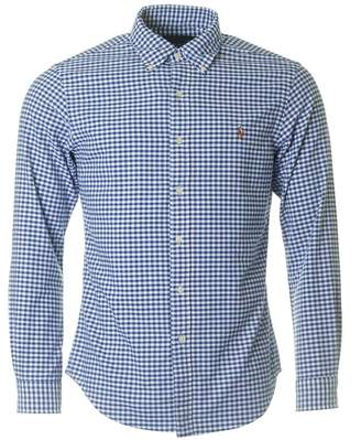 Polo Ralph Lauren Slim Fit Gingham Check Oxford Shirt