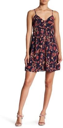 Sequin Hearts Floral Mini Dress (Juniors) $46 thestylecure.com