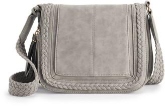Violet Ray Kourtney Saddle Crossbody Bag