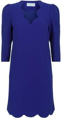 Claudie Pierlot Scallop Trim Shift Dress