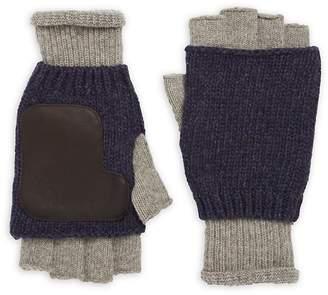 Ben Sherman Men's Knitted Fingerless Gloves