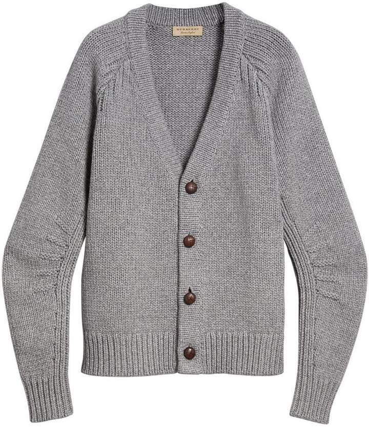 Burberry chunky knit cardigan