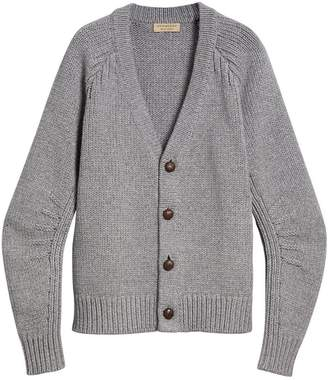 Burberry chunky knit cardigan
