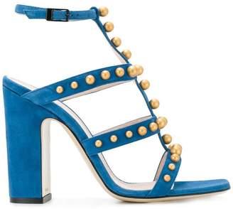 Pollini studded sandals