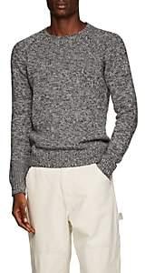 Barena Venezia Men's Cashmere-Wool Sweater - Light Gray