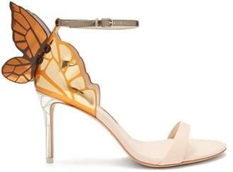 Sophia Webster Chiara butterfly-wing leather sandals