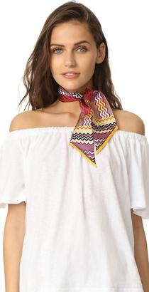 Missoni Skinny Tie Scarf $135 thestylecure.com