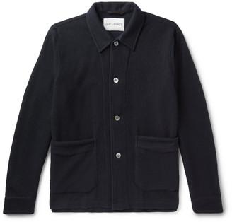 Virgin Wool-Blend Jacket