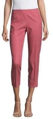 Piazza Sempione Cropped Printed Pants