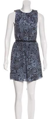 Gryphon Printed Sleeveless Dress