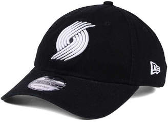 New Era Portland Trail Blazers Black White 9TWENTY Cap