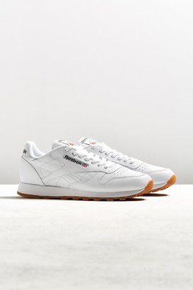 Reebok Classic Leather Gum Sole Sneaker $75 thestylecure.com