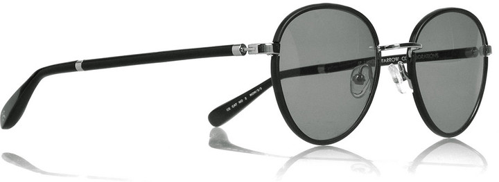 The Row Round metal-frame sunglasses
