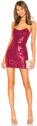 superdown Stevie Sweetheart Mini Dress