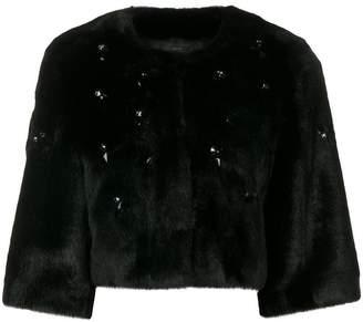 Pinko Zani faux fur jacket