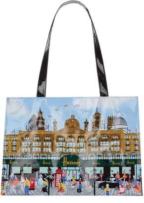 Harrods Summertime Store Printed Tote Bag