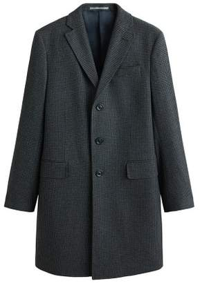 Mango Man MANGO MAN Herringboned wool Tailored coat