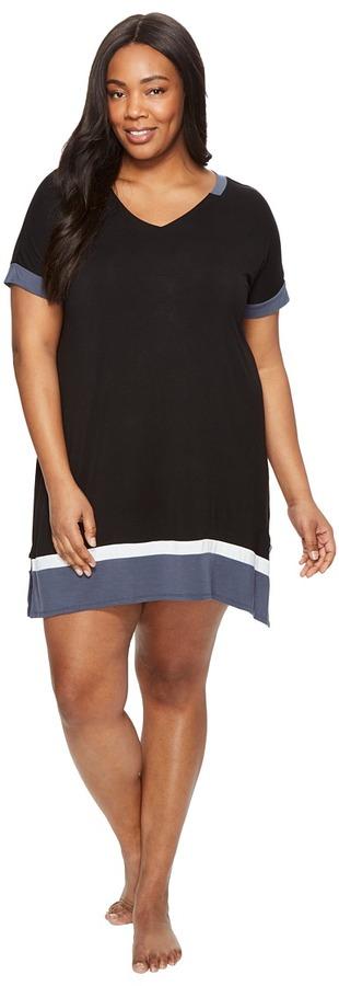 DKNYDKNY - Plus Size Short Sleeve Sleepshirt Women's Pajama