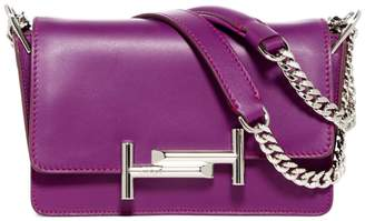 Tod's Double T Mini Leather Crossbody Bag