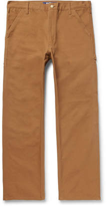 Junya Watanabe Carhartt Cotton-Canvas Cargo Trousers