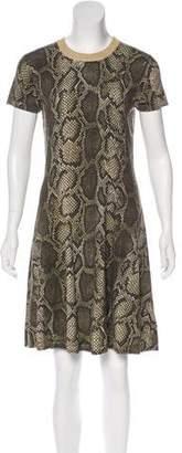 MICHAEL Michael Kors Short Sleeve Knit Dress