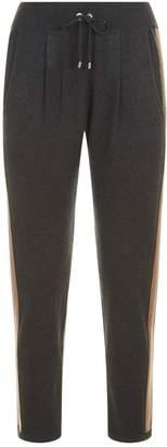 Brunello Cucinelli Cashmere Side Stripe Sweatpants