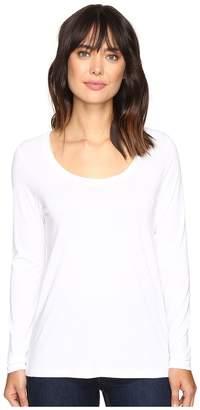 Lilla P Pima Modal Long Sleeve Scoop Neck Women's Clothing