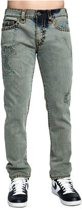 True Religion MENS OVERDYED SUPER T ROCCO SKINNY JEAN