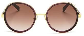 Jimmy Choo Women's Andie Round Sunglasses, 54mm