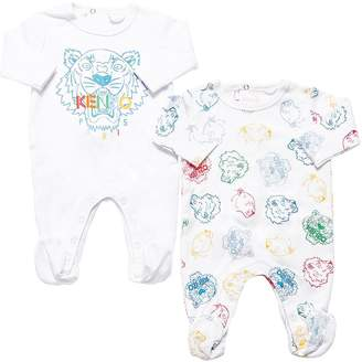 Kenzo SET OF 2 COTTON ROMPERS